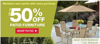 up to 50 off patio furniture at kmart