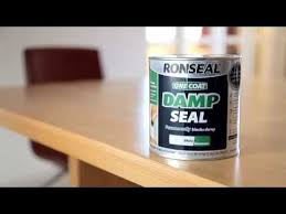 Sealant Paint For Damp Interior Walls How To Stop Damp Coming Through Your Paint Youtube