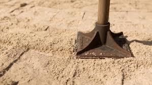 Paver Patio Sand How To Install A Paver Patio