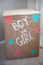 balloons in a box gender reveal diy gender reveal balloon box