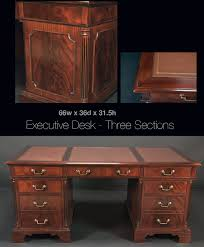 kidney shaped executive desk antique desks and library tables