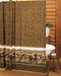 Western Bathroom Shower Curtains Western Cowboy Bathroom Shower Curtain Hooks New