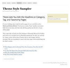 Thesis Custom Loop API