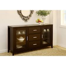 Sideboards Awesome Espresso Buffet Cabinet Espressobuffet - Dining room buffet cabinet