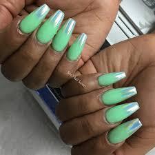 unicorn tipped nail art popsugar beauty