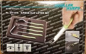 mueller kueps mueller kueps 5 clip lifter tool set for plastic