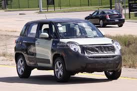 fiat freemont 2015 spyshots 2015 jeep b suv fiat 500x test mule autoevolution