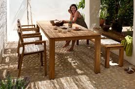 Dining Table Teak Contemporary Dining Table Teak Rectangular Round Kos By