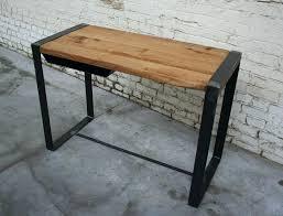 bureau metal et bois bureau industriel metal bois chiffonnier industriel style voyageur
