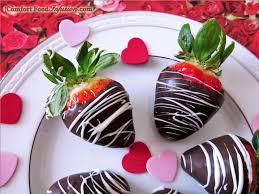 White Chocolate Dipped Strawberries Chocolate Dipped Strawberries Comfort Food Infusion