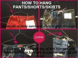 how to hang dress pants on hanger lpt hanging your pants on a