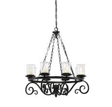 Black Iron Chandeliers Outdoor Black Iron Chandelier Battery Operated Chandelier With