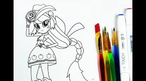 equestria girls coloring for kids my little pony coloring pages