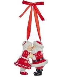 bargains 19 porcelain santa and mrs claus