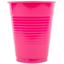 colored plastic cups solid color plastic cups
