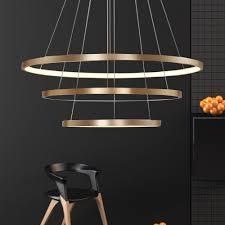 Wohnzimmerlampe E14 Hghomeart Led Ring Kronleuchter Glanz Im Wohnzimmer Lampe Moderne