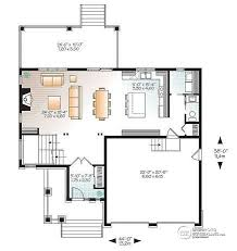 open layout floor plans house plan w3718 detail from drummondhouseplans com