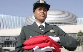 le siege de l ua le drapeau marocain hissé au siège de l ua ivorian presse et