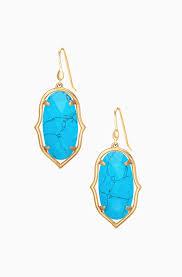 turquoise earrings turquoise chandelier earrings stella dot stella dot