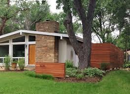 Mid Century Modern Ranch Modern Horizontal Fence Terrace Patio U0026 Outdoor Pinterest
