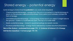 using energy ch u2013 page ppt download