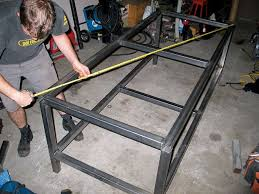 diy welding table plans how to build a welding table 4wheel off road magazine