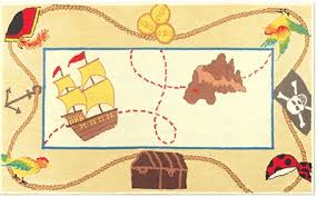 pirate treasure map rug by the rug market pirate rug pirate carpet