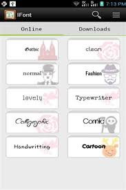 ifont apk ifont fonts for android for android free on mobomarket