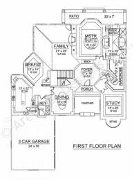 spanish bay courtyard house plan texas style house plan