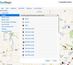 draw a radius on a map draw radius map with circles around markers