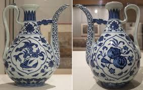 file ewer qing dynasty qianlong period porcelain honolulu