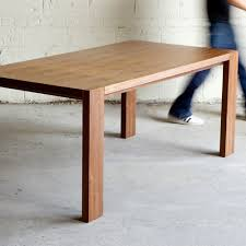 gus modern dining table plank dining table by gus modern available at grounded modern living