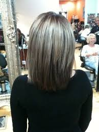 low lights in grey hair gray hair with lowlights before and after hair by denny grimmett