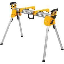 dewalt chop saw table dewalt dwx724 compact miter saw stand ebay