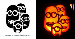 10 free minion pumpkin carving stencils patterns u0026 ideas