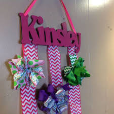 hair bow holders frozen themed personalized custom wood from seewoodnthings on