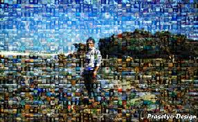 tutorial edit foto mozaik tutorial membuat foto mozaik prasetyo design di photoshop belajar