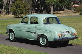 1960 renault dauphine sold renault dauphine sedan auctions lot 2 shannons