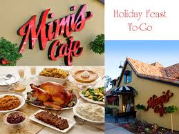 what was served at the first thanksgiving meal holiday meals on the go with mimi u0027s cafe rockin mama