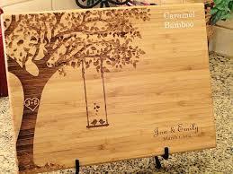 engraved cutting board wedding gift 1000 ideas about engraved wedding gifts on wedding laser