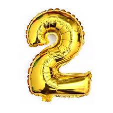 balloon decorations mylar number letter gold 40 2 two mylar number letter balloons birthday big