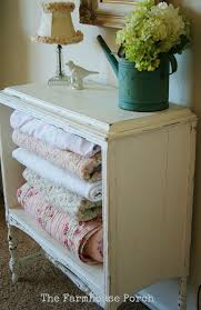 take drawers out cute dresser turned blanket hutch use in