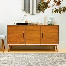 mid century modern kitchen storage cabinet mid century buffet