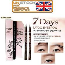 tattoo pen ebay monomola 7 days eyebrow tattoo pen liner long lasting makeup black