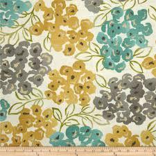 robert allen luxury floral slub pool discount designer fabric