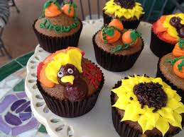 how to make easy thanksgiving cupcakes kid friendly youtube