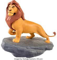 The Lion King Adult Mufasa Hand Painted Limited Edition Maquette Mufasa King