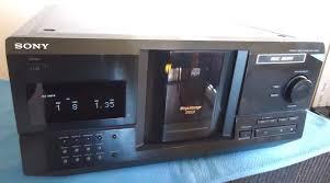 sony cdp cx220 compact disc player mega storage 200 cd u0027s youtube