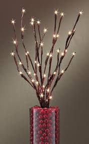 lighted willow branches battery operated lighted willow branch instantly create a magical