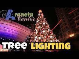 lenox tree lighting 2017 christmas vibe at araneta araneta tree lighting 2017 vlogmas